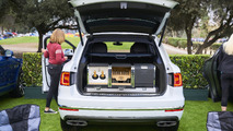 Tailgating in a 2017 Bentley Bentayga