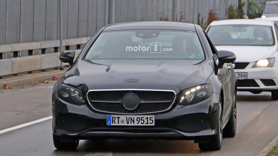 2018 Mercedes E-Class Coupe spy photos