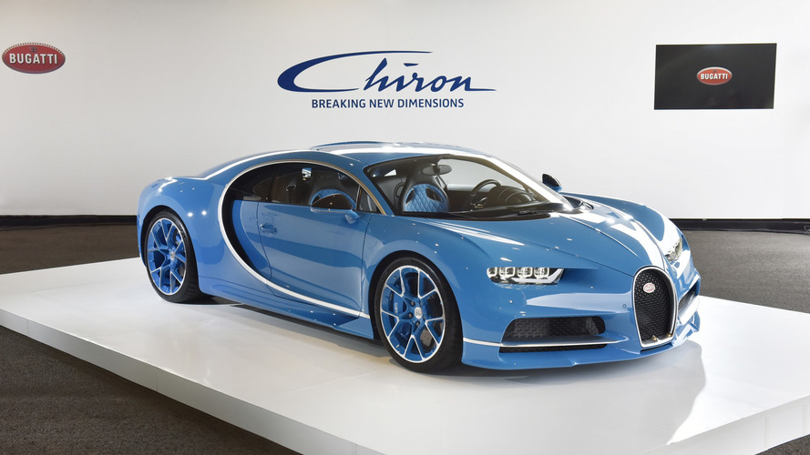 Bugatti Chiron arrives in Japan to rack up orders