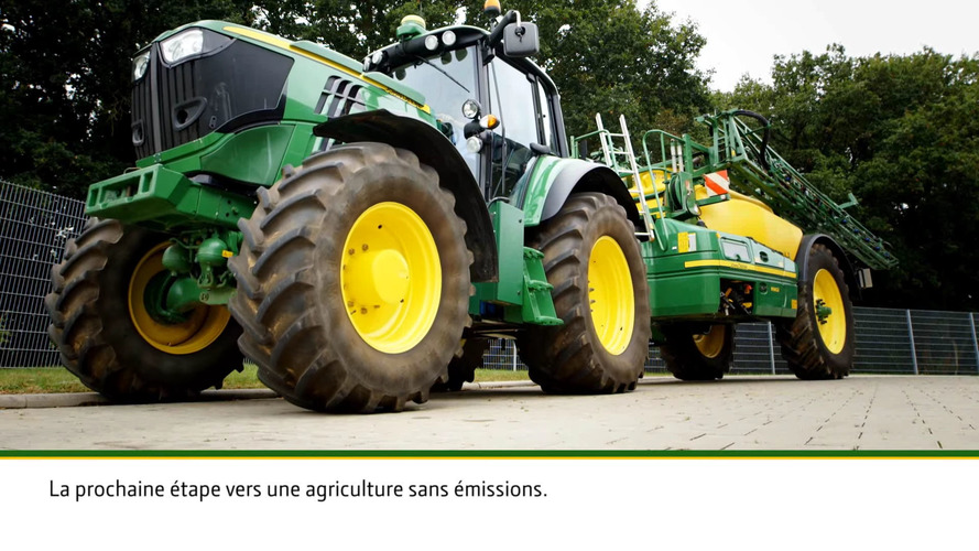 John Deere Tractor Split : John deere really goes green with ev tractor concept