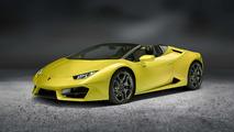 Lamborghini Huracan Spyder amarillo