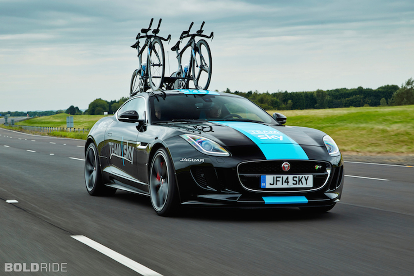 Jaguar F-Type Concept Proves Bike Transport Can Look Cool [w/Video]