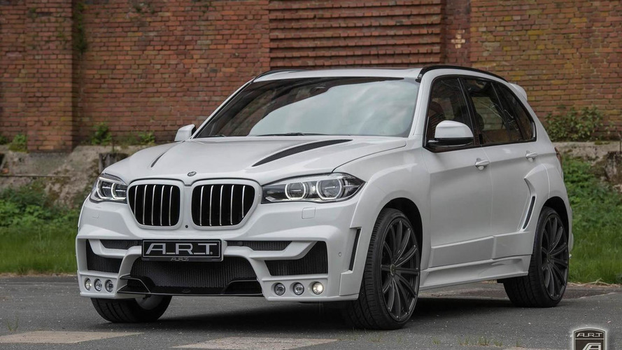 BMW X5 by A.R.T. receives a wide body kit (45 photos)