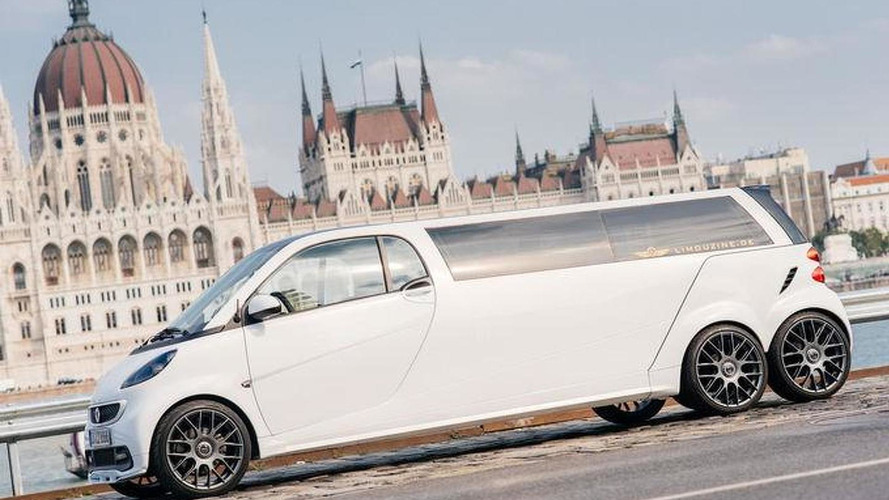 Six-wheeled Smart limousine set to shock Frankfurt Motor Show [video]