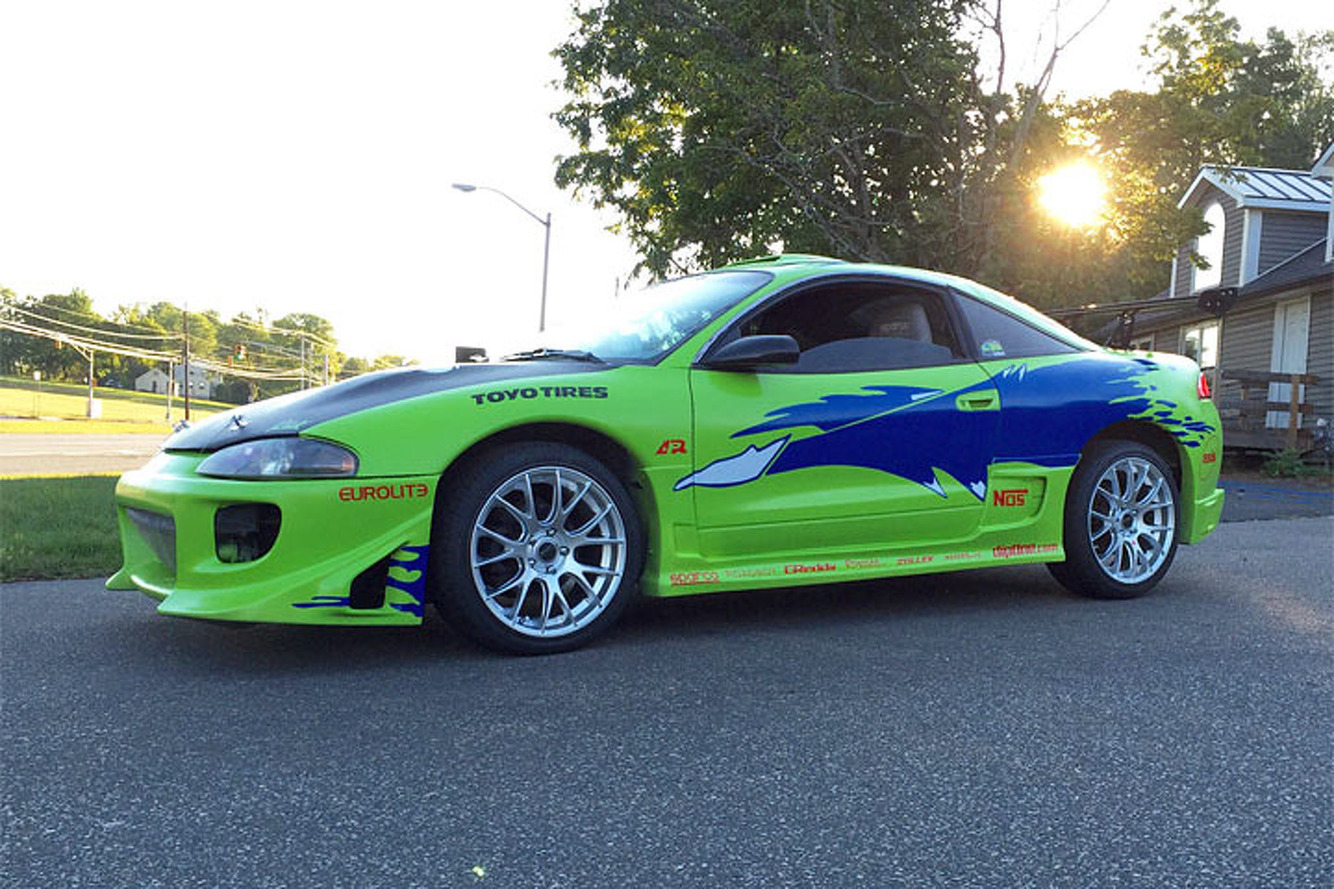 "Fan Turns Mitsubishi Eclipse into ""Fast and Furious"" Tribute"