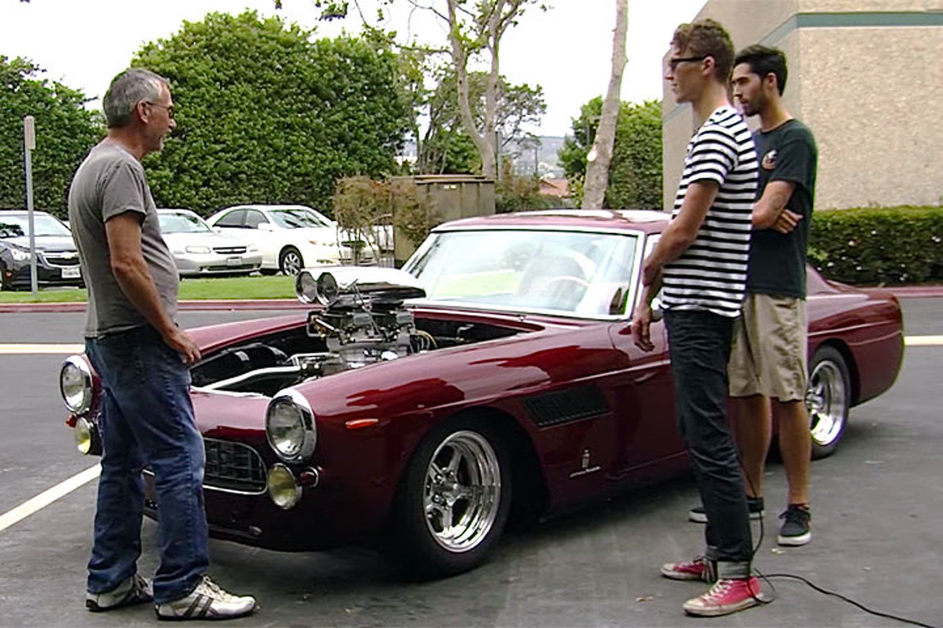 This Brave Man Swapped a Chevy V8 into a Classic Ferrari