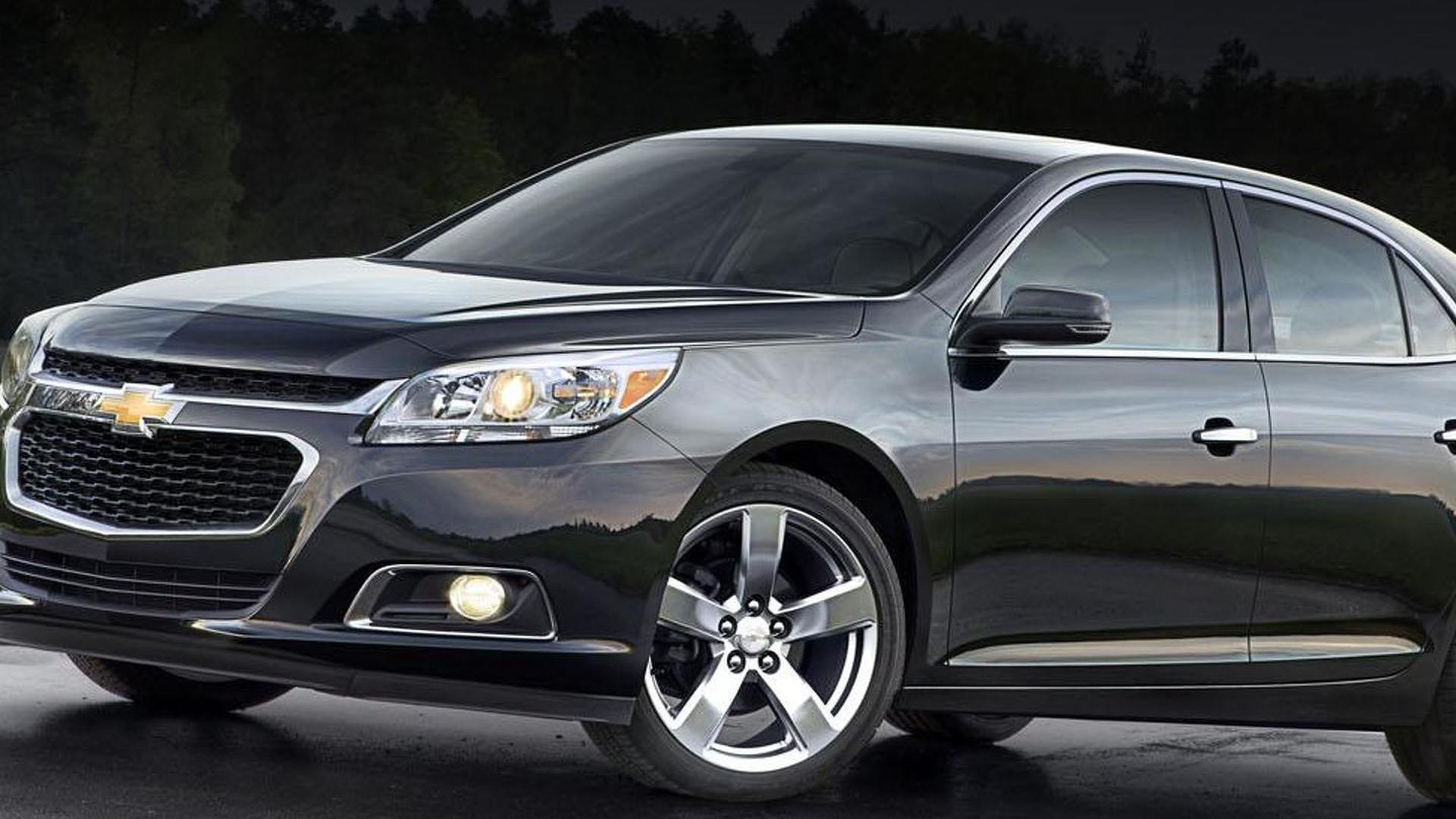 2014 chevrolet malibu facelift revealed. Black Bedroom Furniture Sets. Home Design Ideas