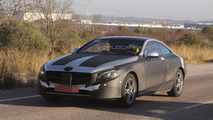 2014 Mercedes-Benz S-Class Coupe spy photo