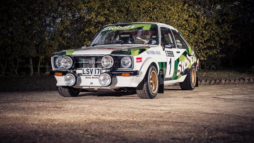 1977 Ford Escort MK2 RS1800 driven by Colin McRae will be auctioned
