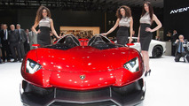 Lamborghini pleased with new Aventador J unveiling at Geneva