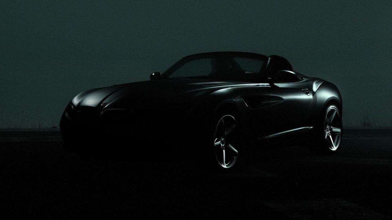 Second BMW Zagato concept teaser 15.08.2012