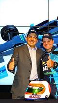 Rubens Barrichello announces Indycar drive with KV team and sponsor BMC Brasil Maquinas, 1120, 02.03.2012