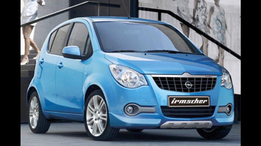 Irmscher verpasst dem Opel Agila ein sportlicheres Aussehen