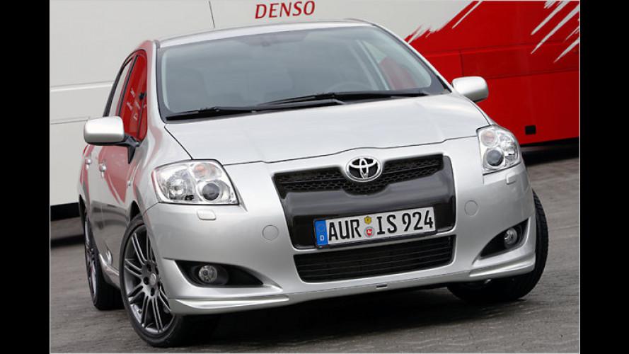 Toyota-Studie: Mehr Power per Knopfdruck für den Auris