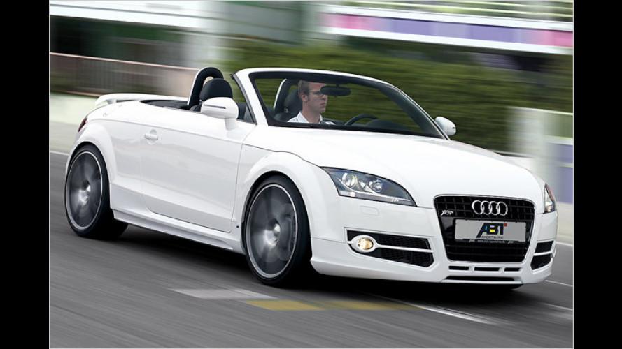 Abt powert den Audi TT Roadster auf bis zu 370 PS