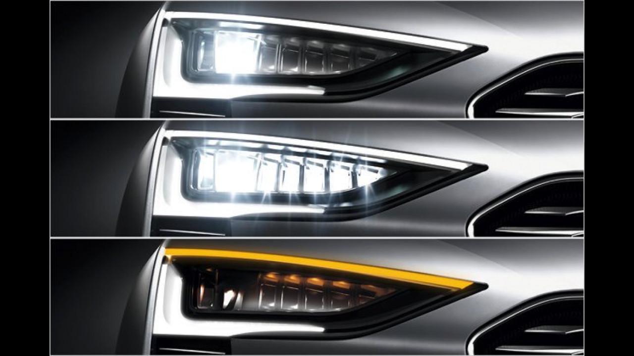 Audi Matrix Beam-Lichttechnologie
