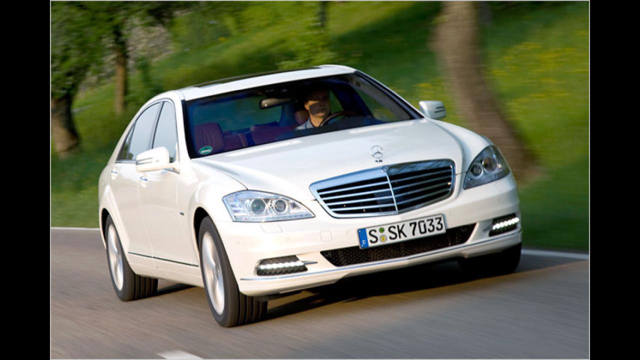 Hybridmodell: Mercedes S 400 Hybrid 7G-Tronic Sport