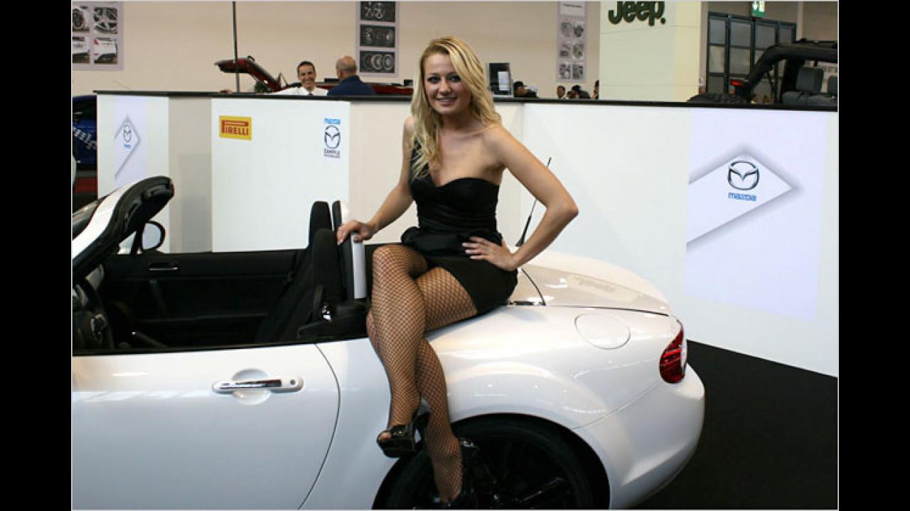 Flache Roadster sind ganz praktisch, oder?