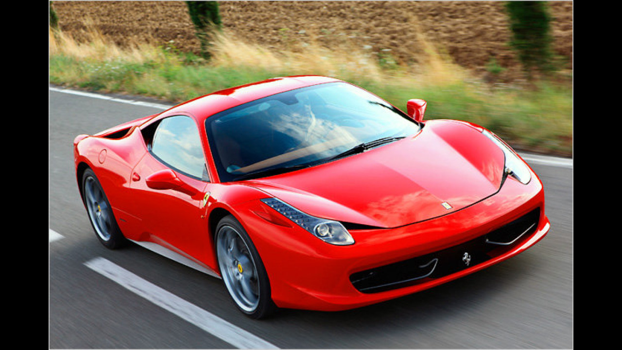 Ferrari 458 Italia F1-Schaltung