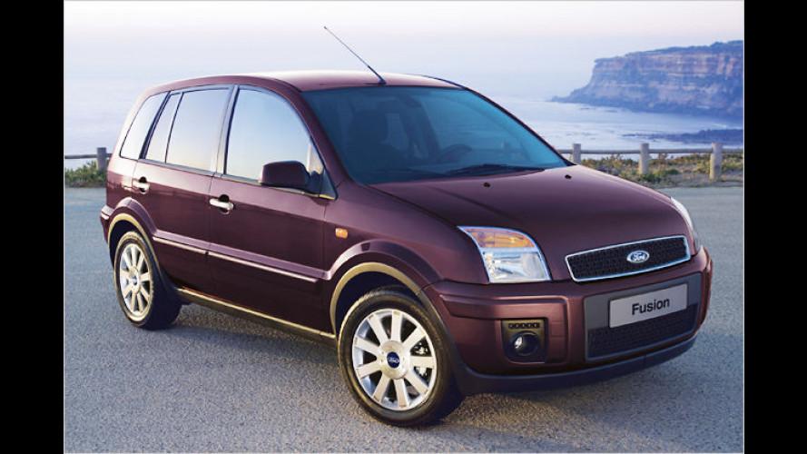 Ford wertet den kompakten Crossover Fusion auf