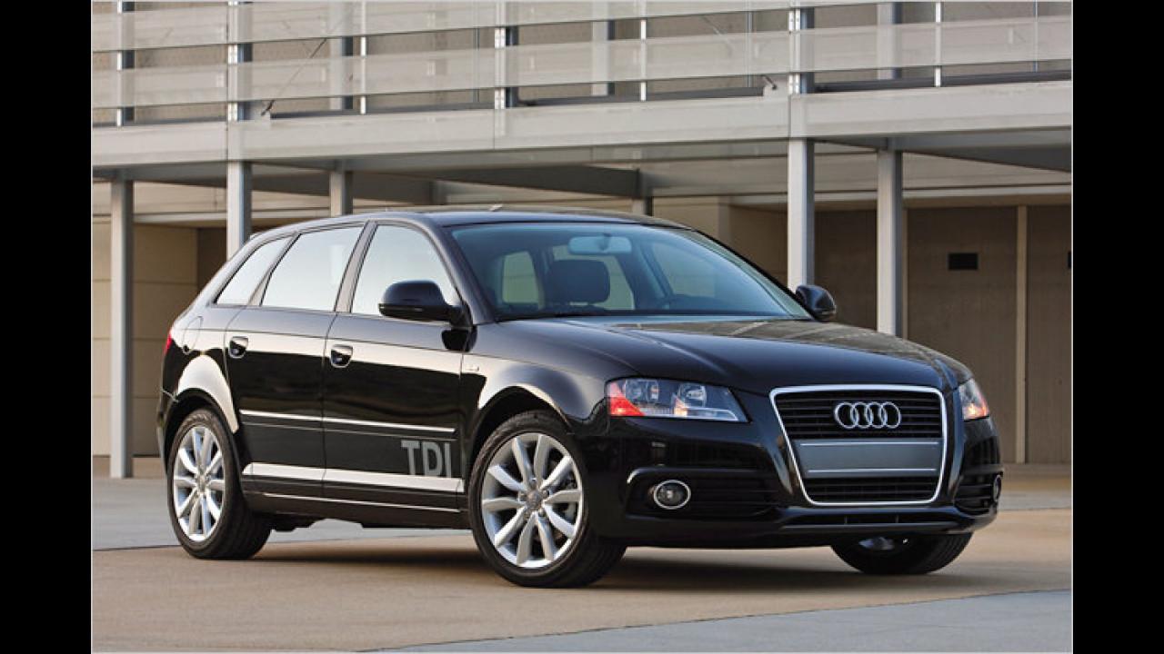 Kompaktwagen: Audi A3 1.6 TDI 99g Attraction