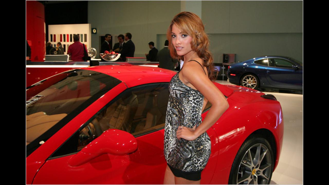 Ah, doch ein roter Ferrari! Hätte uns auch gewundert, wenn wir keinen gefunden hätten ...