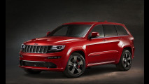 Jeep Grand Cherokee SRT Red Vapor, serie speciale che fa cantare il motore