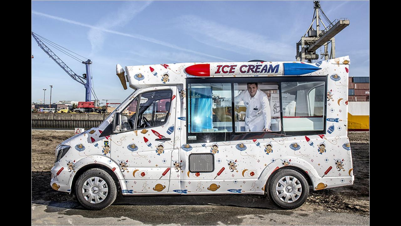 Eiswagen von Whitby Morrison