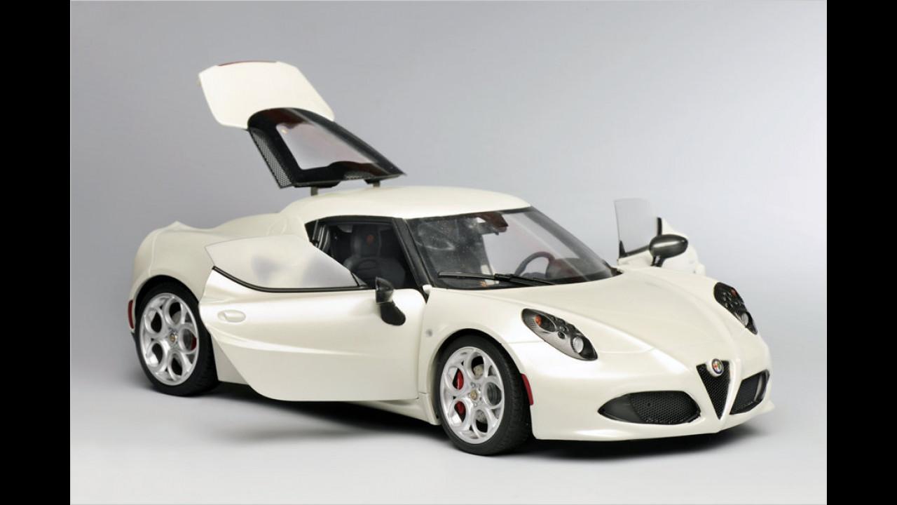 Sieger 1:18 aktuell: Alfa Romeo 4C