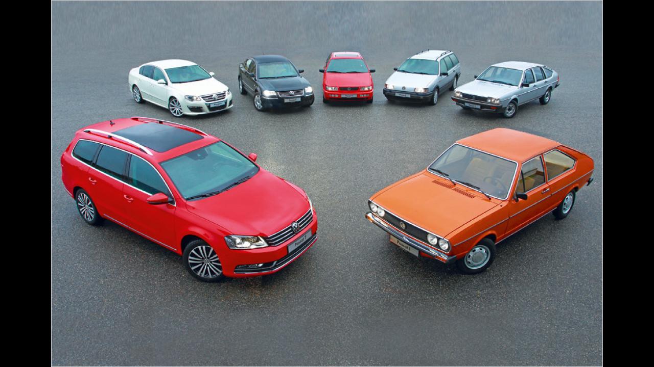 40 Jahre VW Passat