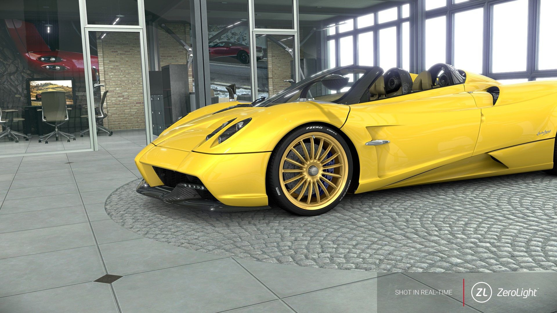 pagani huayra roadster configurator provides taste of. Black Bedroom Furniture Sets. Home Design Ideas
