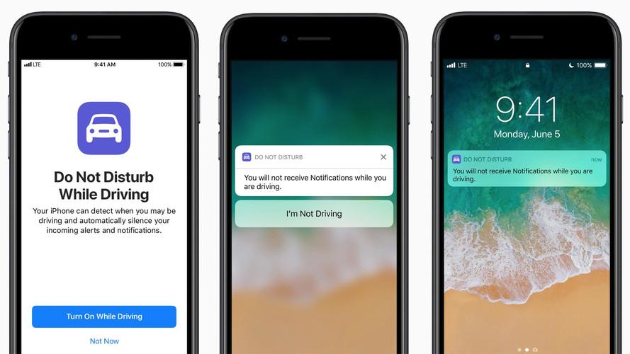 """Apple, """"Rahatsız Etme"""" özelliği ile sürüş esnasında dikkat dağınıklığını önleyecek"""