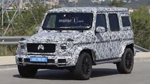 2018 Mercedes G-Class new spy photos