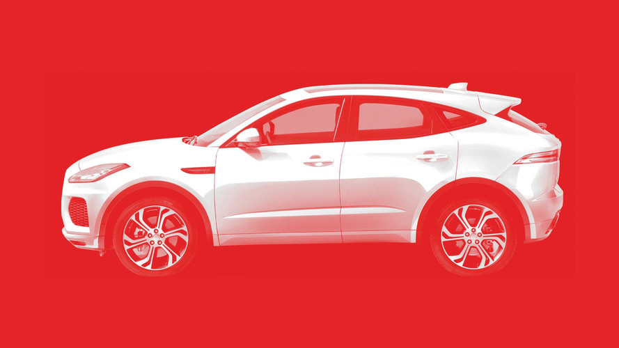 Jaguar divulga teaser do E-Pace, irmão menor do F-Pace