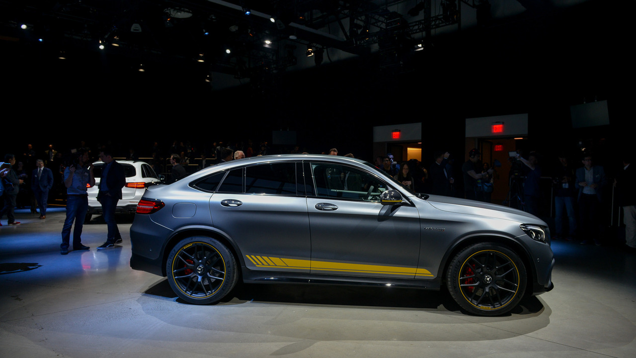 2018 Mercedes Benz Glc63 And Coupe New York 2017 Photo