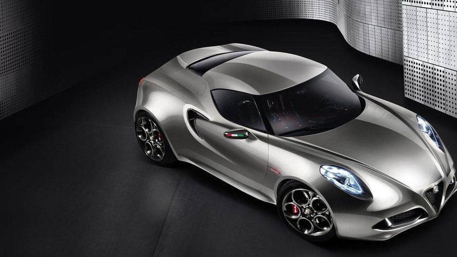Alfa 4C flagship starts production May 2013