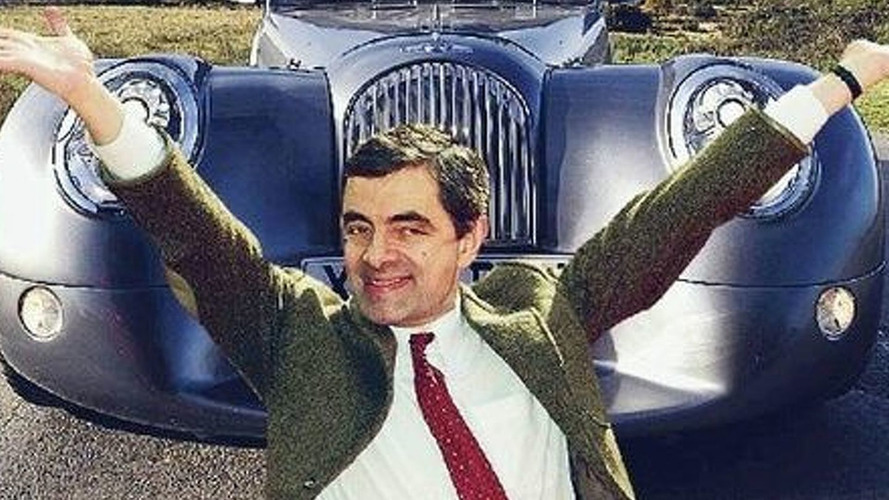 Mr Bean Jumps in Morgan Aeromax