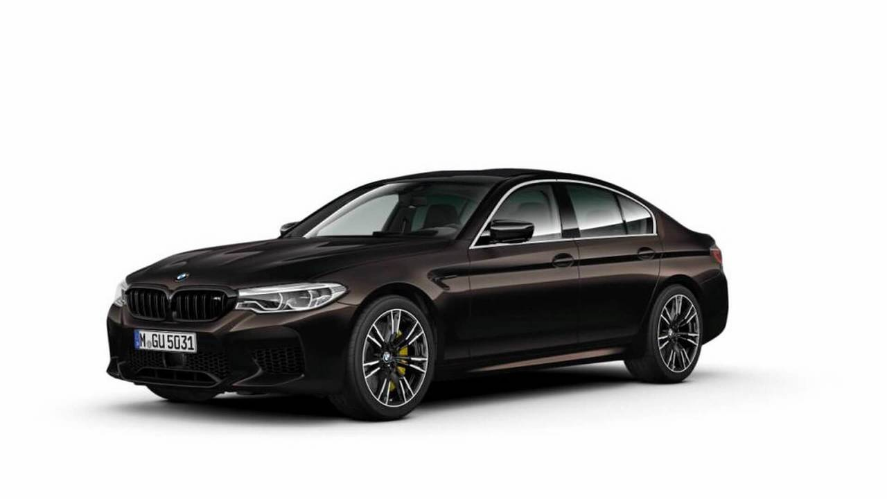 BMW M5 with the Competition Package