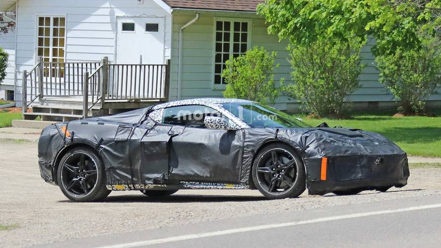 2020 Mid-Engined Chevy Corvette Spy Photos