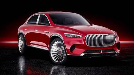 Vision Mercedes-Maybach Ultimate Luxury Leaked