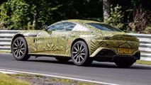 2019 Aston Martin Vantage Nürburgring casus fotoğrafları