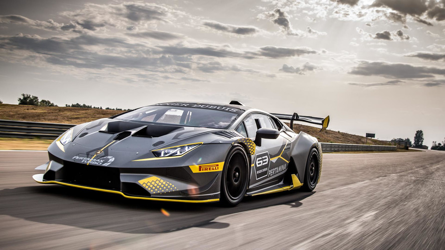 lamborghini reveals huracan super trofeo evo race car. Black Bedroom Furniture Sets. Home Design Ideas