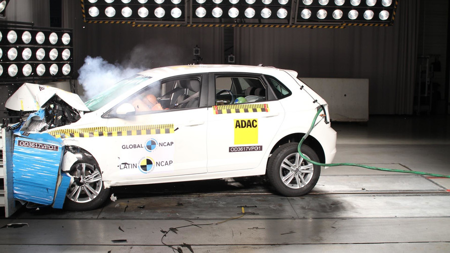 Novo VW Polo e Toyota Corolla conquistam nota máxima em teste de colisão