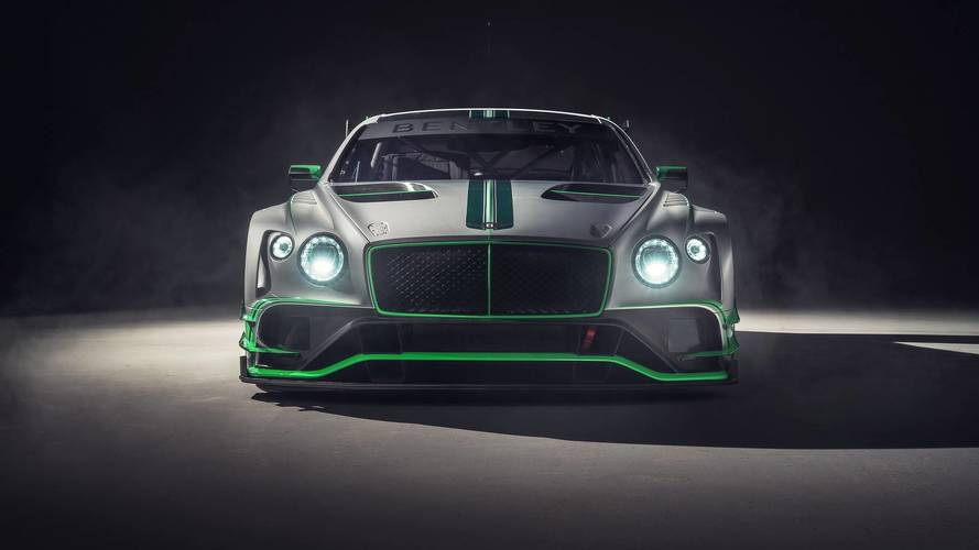 2018 Bentley Continental GT3 race car