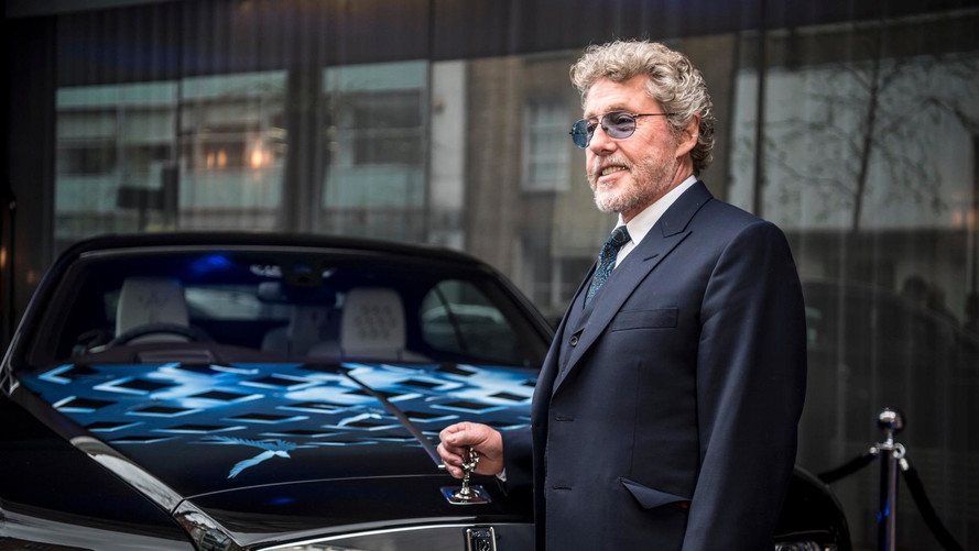 The Who's Roger Daltrey Auctions Custom Rolls-Royce For Charity