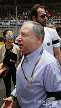 Jean Todt FIA President on the grid
