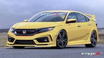 2017 Honda Civic Type R render