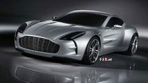 The New Aston Martin One-77