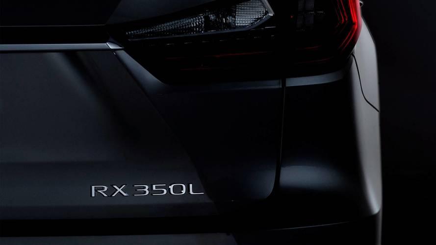 Lexus RX to stretch to three-rows