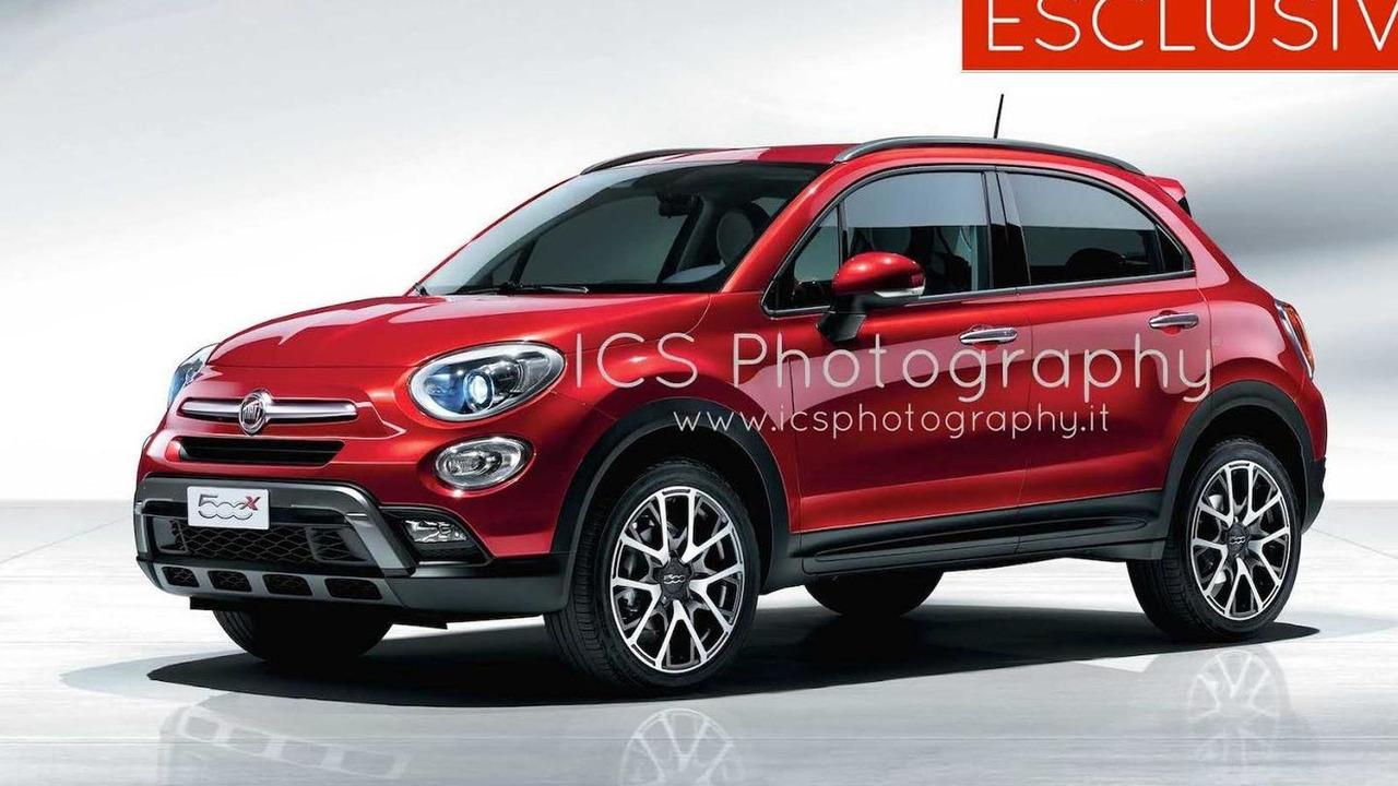 2015 Fiat 500X leaked photo